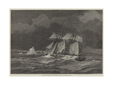 The Arctic Expeditions, the Pandora Beating Up for Carey Islands Giclee Print by Walter William May