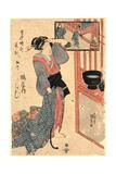 Tatsu No Koku Asa Itsustsu Tsuruya Uchi Kashiku Giclee Print by Utagawa Toyokuni
