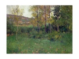 Spring Landscape, Giverny, 1887 Giclee Print by Willard Leroy Metcalf
