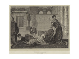 The Death of Cleopatra Giclee Print by Valentine Cameron Prinsep