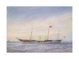 The Royal Yacht Osbourne, 1876 Giclee Print by William Frederick Mitchell