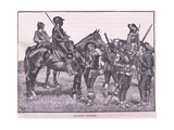 Cavalier Soldiers Ad 1645 Giclee Print by Walter Stanley Paget