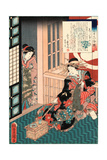 Siratama No Hanashi Giclee Print by Utagawa Toyokuni