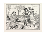 Pan Pipes Giclee Print by Walter Crane