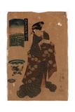 Ryogoku No Hanabi Giclee Print by Utagawa Toyokuni