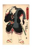 Somagahana Fuchiemon Giclee Print by Utagawa Toyokuni