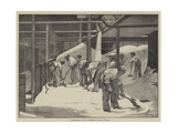 Sugar-Making at the Counterslip Refinery, Bristol Giclee Print by William Bazett Murray