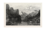 The Bay of Uri Lake of Lucerne Giclee Print by William C. Smith