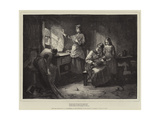 For Men Must Work and Women Must Weep Giclee Print by William Harris Weatherhead
