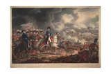 The Duke of Wellington and the Most Distinguished Officers at the Battle of Waterloo Giclee Print by William Heath