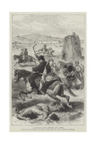 A Turkoman Raid, Carrying Off a Prize Giclee Print by William 'Crimea' Simpson