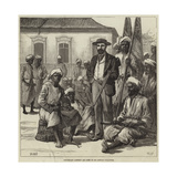 Lieutenant Cameron and Some of His African Followers Giclee Print by William Heysham Overend