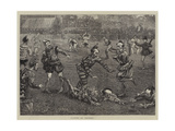 Clowns at Cricket Giclee Print by William Bazett Murray