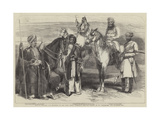 Native Officers and Soldiers in the East India Company's Service Giclee Print by William Carpenter
