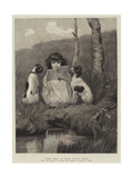 The Dog it Was That Died Giclee Print by William Henry Gore