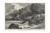 Scene of the Murder at Babbicombe, South Devon Giclee Print by William Henry James Boot