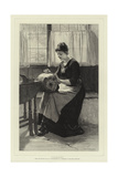 Lacemaking Giclee Print by William Harris Weatherhead