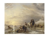 Frost Scene, 1827 Giclee Print by William Collins