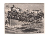 Departure of the British Troops from Alexandria Ad 1807 Giclee Print by William Barnes Wollen