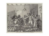 Charles II in Holland, before the Restoration Giclee Print by William Carpenter
