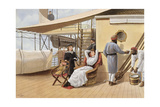 Warm Weather, an Afternoon Bask in the Sun, from 'P and O Pencillings', C.1890 Giclee Print by W. Lloyd