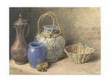 Still Life with Ginger Jar, C.1825 Giclee Print by William Henry Hunt