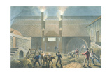 Exterior of the Boiling House, from 'Ten Views in the Island of Antigua', 1823 Giclee Print by William Clark