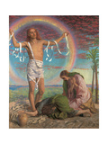 Christ and the Two Marys Giclee Print by William Holman Hunt