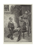 A Recruit for the Prince of Wales's Own Giclee Print by William Henry Charles Groome