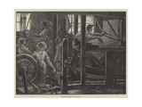Matting-Weavers Giclee Print by William Bazett Murray