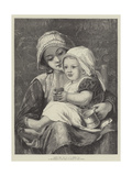 Baby's Tea Giclee Print by William Charles Thomas Dobson