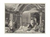 Entrance to a Mosque, Islamabad, Cashmere Giclee Print by William Carpenter