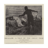 Swallow, a Tale of the Great Trek Giclee Print by William Hatherell