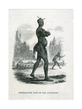 Moselekatse King of the Amazooloo, 1852 Giclee Print by William Cornwallis Harris