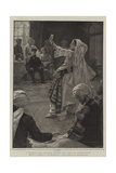 A Nautch Girl Dancing before the Amir of Afghanistan Giclee Print by William Hatherell