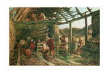 The Nativity, 1872 Giclee Print by William Bell Scott