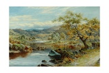 The Lledr Valley, Capel Curig Giclee Print by William Henry Mander