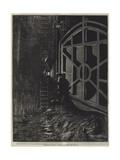 Underground London, a Penstock Chamber Giclee Print by William Bazett Murray