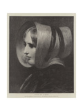 Study of a Head Giclee Print by William Etty