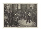 After Dinner at the Sailors' Home, East End Giclee Print by William Bazett Murray