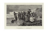 Women Waiting Giclee Print by William Harris Weatherhead