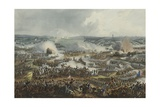 The Battle of Waterloo June 18th 1815 Giclee Print by William Heath