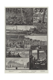 Growing London, Sketches in the Western Suburbs Giclee Print by William Bazett Murray