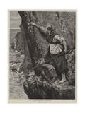The Samphire Gatherer Giclee Print by William Bazett Murray
