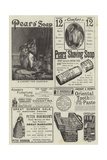 Page of Advertisements Giclee Print by William Henry Hamilton Trood