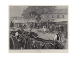 After the Massacres, Carting the Armenians to the Cemetery at Shishly Giclee Print by William Hatherell