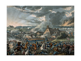 Battle of Waterloo Giclee Print by William Heath