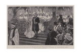 The Wedding of the Earl of Crewe and Lady Margaret Primrose in Wesminster Abbey Giclee Print by William Hatherell