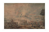 The Battle of Waterloo, 1816 Giclee Print by William Heath