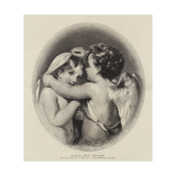 Cupid and Psyche Giclee Print by William Etty